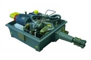 Alcatel EHW 825 type railway point machine